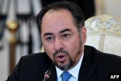 د افغانستان د بهرنیو چارو وزیر صلاح الدین رباني