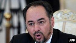 صلاح الدین ربانی وزیر خارجۀ افغانستان