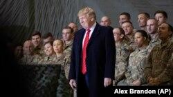 Дональд Трамп у Аўганістане