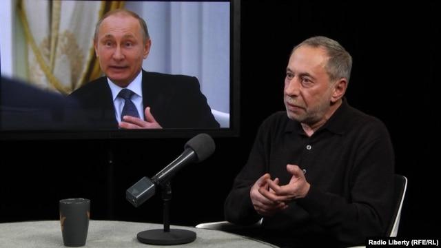 Симон Кордонский в студии Радио Свобода
