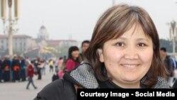 Кытайдагы Нанкин университетинин профессору Нурмира Жамангулова.