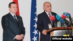 Ivica Dačić i Vjekoslav Bevanda, Sarajevo, 13.9.2013.