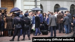 Свідки Єгови, Росія, квітень 2017 року