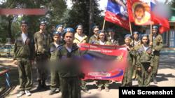 Вихованці одного з таборів угруповання «ДНР»