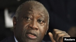 Embattled Ivory Coast President Laurent Gbagbo (file photo)