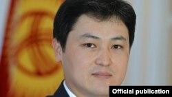 Кыргызстандын Эсеп палатасынын төрагасы Улубек Марипов.