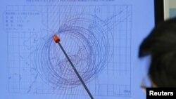 Карта сейсмической активности. Иллюстративное фото.