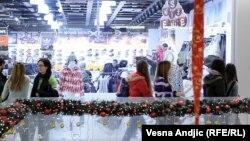 Novogodišnje izdanje jednog od beogradskih tržnih centara
