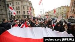 «Независимость – наша самая большая ценность». Шествие в Минске