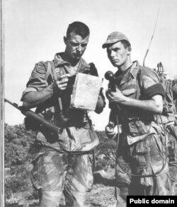 Французские парашютисты в Индокитае. 1953 год
