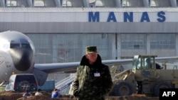 Фурудгоҳи Манас дар наздикии Бишкек.