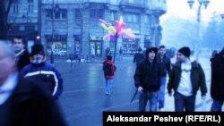 Новогодишна атмосфера во Скопје