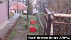 Dvorište kuće ubijenog Dimitrija Janićijevića