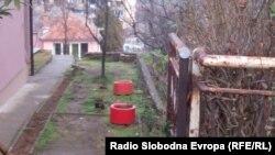 Oborri i shtëpisë së Dimitrije Janiçijeviqit të vrarë