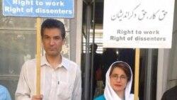 فرهاد میثمی، فعال مدنی زندانی، در اعتصاب غذا به سر میبرد