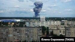 Взрыв на заводе в Дзержинске, 1 июня 2019 года.