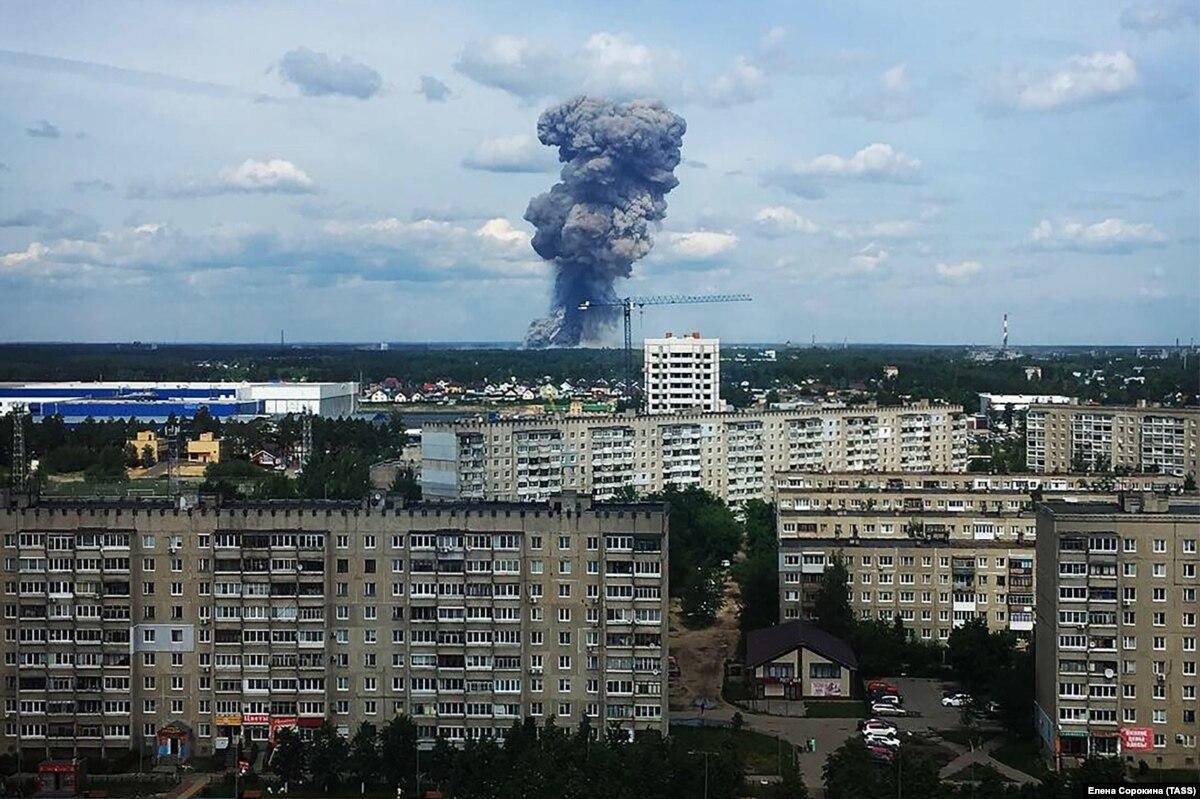 После взрывов на заводе в Дзержинске бомб не нашли
