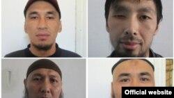 Фотографии бежавших из СИЗО в Кыргызстане.