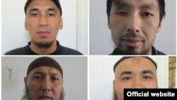 Заключенные, сбежавшие из СИЗО №50 вблизи Бишкека.