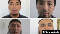 Сбежавшие из кыргызской тюрьмы осужденные.
