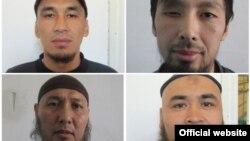 Қырғызстан түрмесінен қашқан сотталушылардың суреттері.
