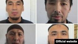 Фотографии заключенных, совершивших побег из киргизской колонии, 12 октября 2015 года