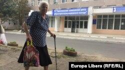 Pensionară din Tiraspol
