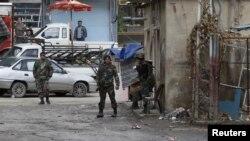 Vojnici u glavnom gradu Sirije