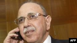 Libya's interim Prime Minister Abdel Rahim al-Kib