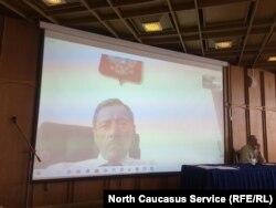 Заместитель председателя совета судей Дагестана Магомед Исаевучаствовал в заседании по скайпу