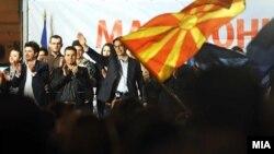 LSDM (Foto gjatë fushatës për zgjedhjet e kaluara)