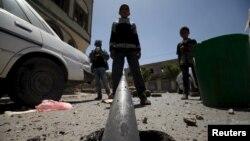 Ілюстраційне фото: після одного з попередніх повітряних ударів по об'єктах повстанців у Ємені