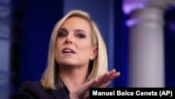 Homeland Security Secretary Kirstjen Nielsen (file photo)