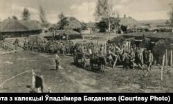 Вёска Інтока (цяпер не існуе) на Пастаўшчыне, 1916. Зьнікла як непэрспэктыўная ў другой палове ХХ стагодзьдзя