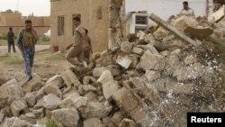Архивска фотографија: Бомбашки напад во Рамади.