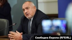 Премиерът Бойко Борисов прекъсна първия редовен брифинг на Националния оперативен щаб за 2021 г.