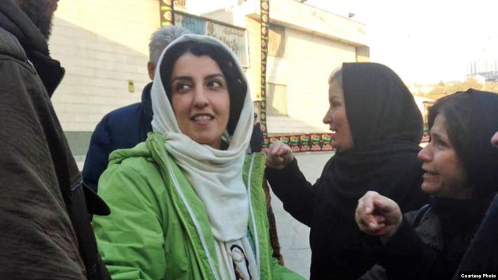 Iranian human rights activist Narges Mohammadi.