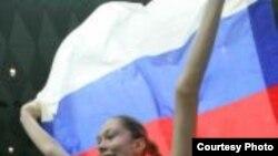Лучший игрок финального матча и сборной России Екатерина Гамова. Фото с официального сайта Всероссийской федерации волейбола www.volley.ru