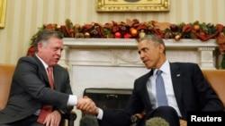 دیدار باراک اوباما با ملک عبدالله، پادشاه اردن در کاخ سفید