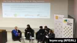 Подиумная дискуссия во Франкфурте-на-Одере Германия, 17 января 2018 года