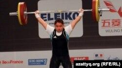Жазира Жаппарқұл Париждегі ересектер арасындағы әлем чемпионатында. Франция, 2011 жыл.