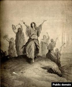 Ілюстрацыя да Кнігі Судзьдзяў. Гюстаў Дорэ