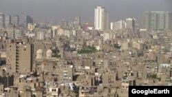 Египет астанасы Каир қаласының жалпы көрінісі.