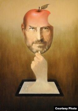 """Çingiz Mehbalıyev """"Apple"""" şirkətinin mərhum rəhbəri Steve Jobs-u belə görür."""