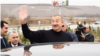 Azerbaijan. Baku. President Ilham Aliyev meeting with people