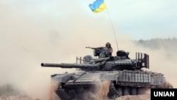 Ілюстраційне фото. Військові навчання Збройних сил України, Харківська область, серпень 2016 року