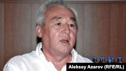 Қазақстан журналистері одағының басқарма төрағасы Сейітқазы Матаев. Алматы, 23 тамыз 2012 жыл.
