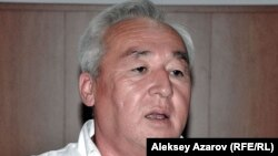 Қазақстан журналистер одағының жетекшісі Сейітқазы Матаев. Алматы, 23 тамыз 2012 жыл.