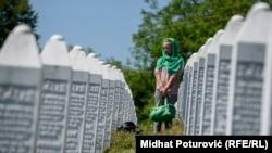Memorijalni centar Potočari u Srebrenici u kojem su sahranjeni posmrtni ostaci žrtava genocida