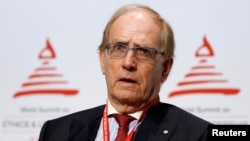 Canadian lawyer Richard McLaren is the author of a new report on drug use in Russian sports.